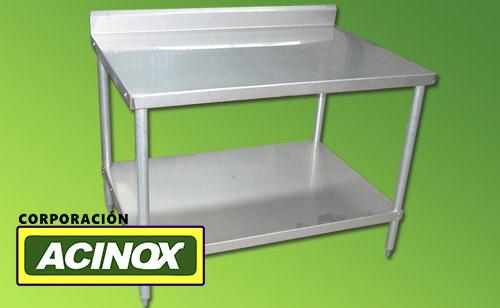 Mesa de Acero Inox Mod-001