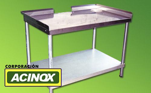 Mesa de Acero Inox Mod-005