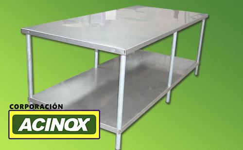 Mesa de Acero Inox Mod-006