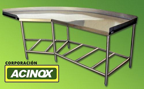 Mesa de Acero Inox Mod-007