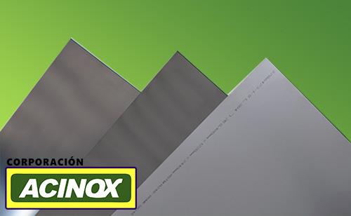 Planchas en Aceros Inox
